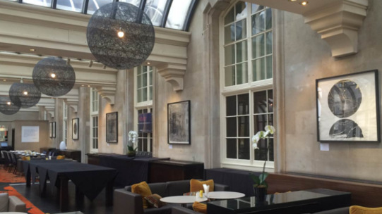 Discover quarterly exhibitions and a specially paired afternoon tea at Terrace Grill & Bar